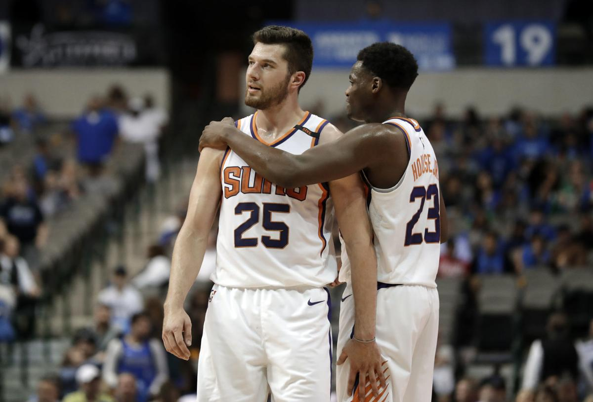 Suns Mavericks Basketball