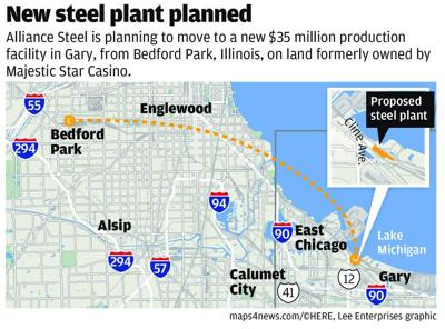 Illinois steel company could bring 100 jobs to Gary