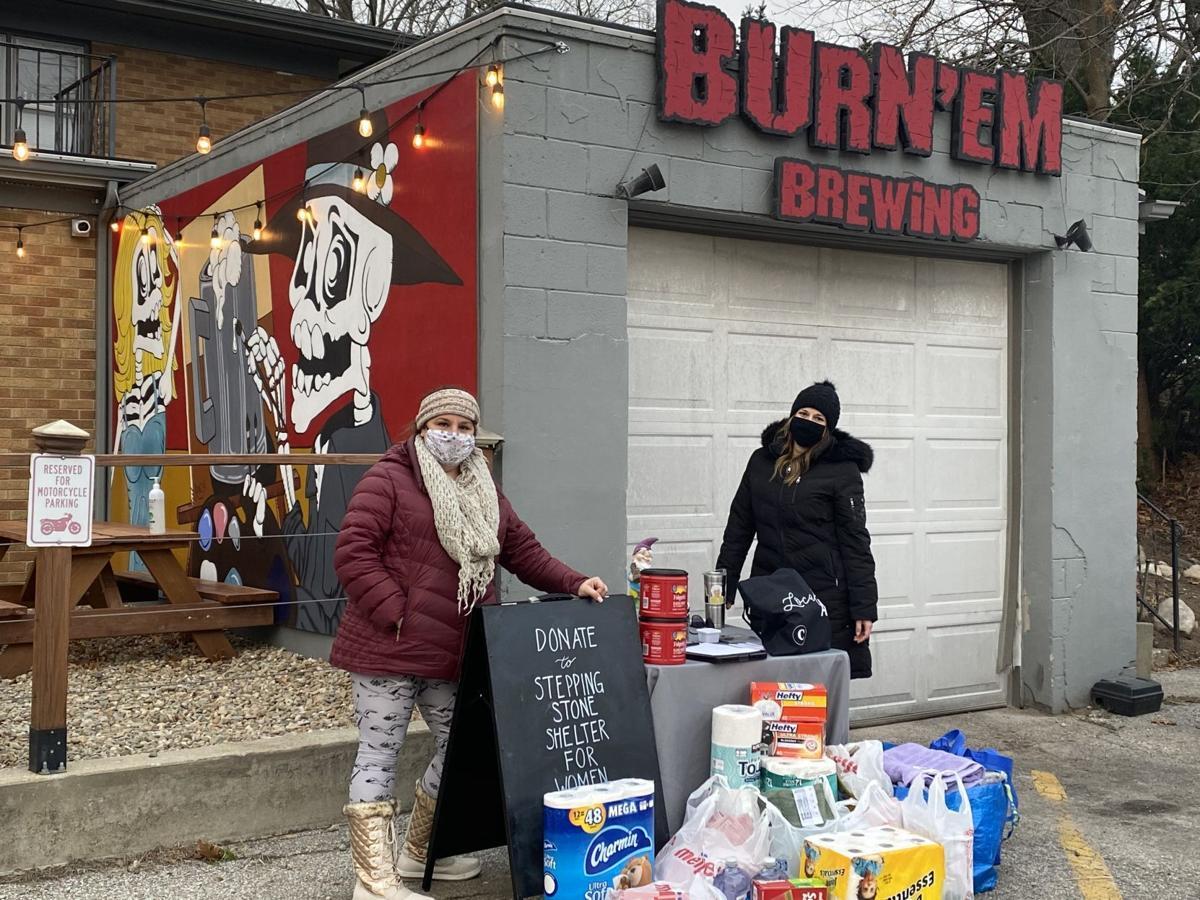 Entrepreneurs raise money for women's shelter