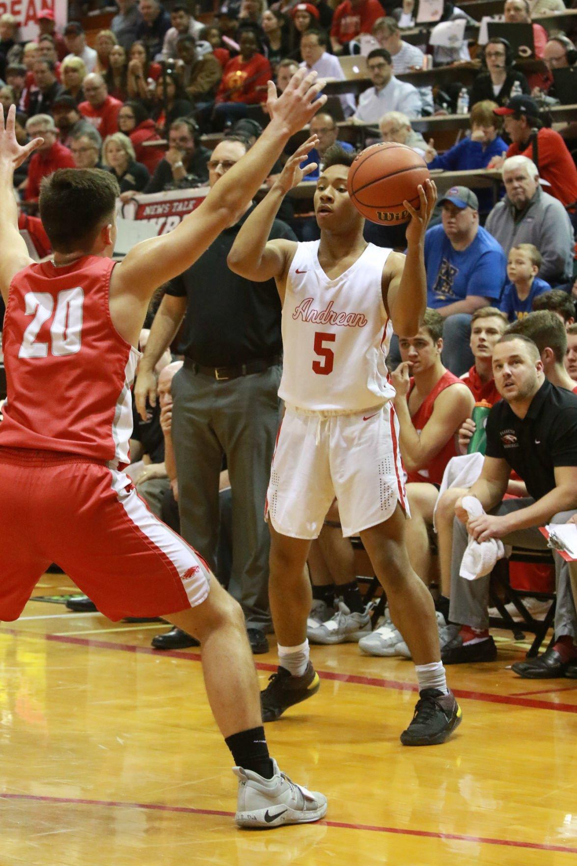 Gallery: Class 2A boys basketball semistate: Andrean vs Frankton (copy)