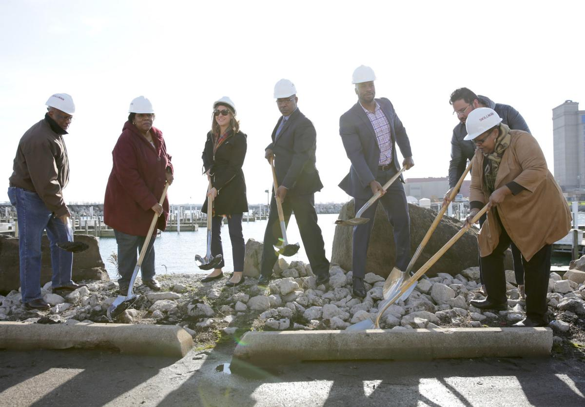 Marina work launches in East Chicago (copy)