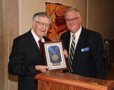 Bishop Noll inducts NWI couple into Hall of Honor