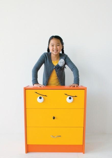 drawer pull dresser rehab