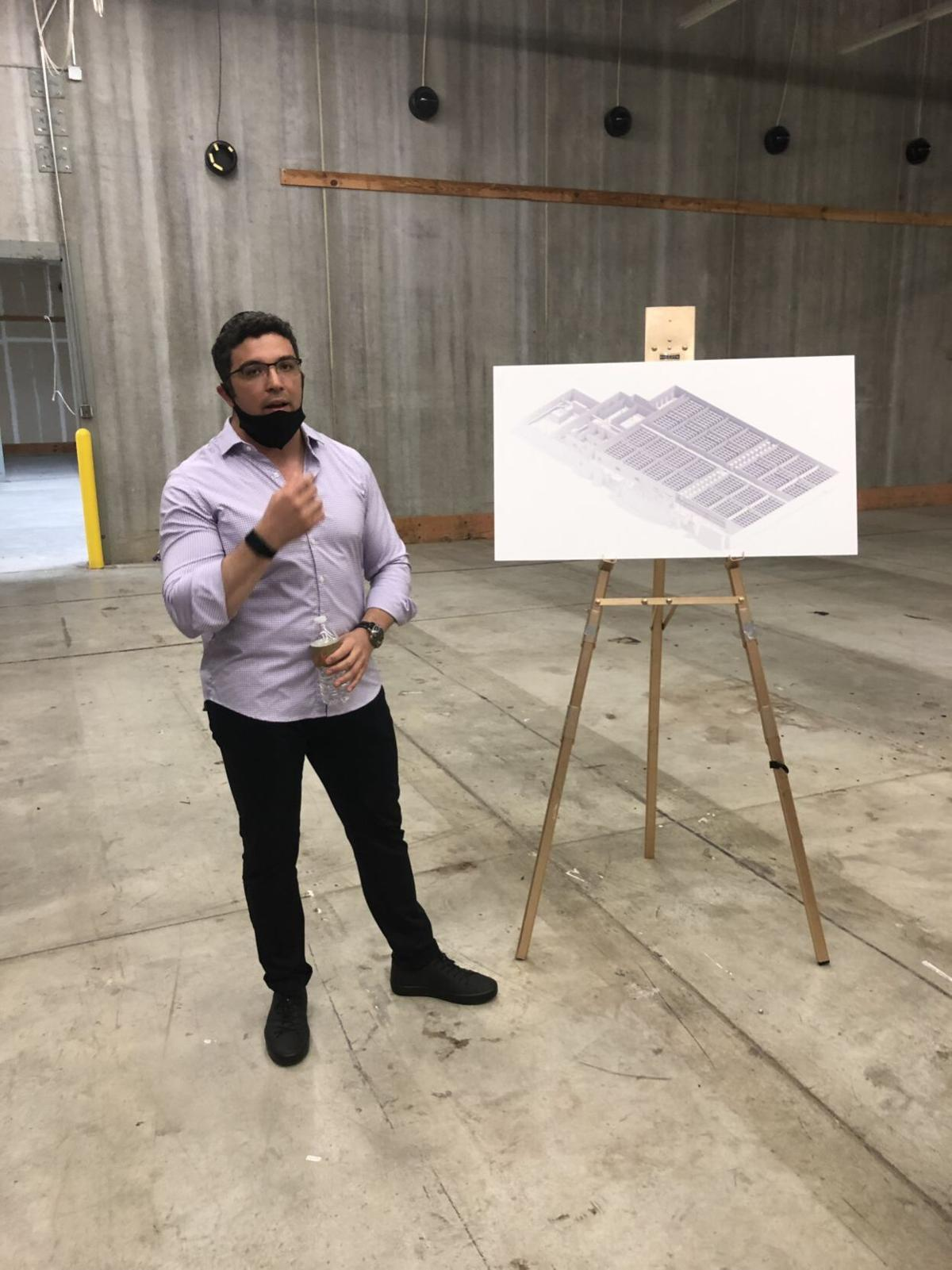Company behind vertical farm in former Target hopes to roll out new technology nationwide