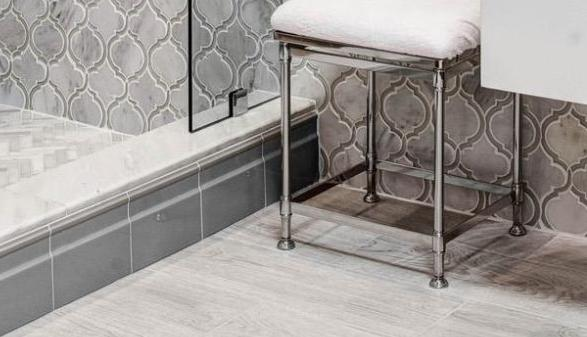 Beneath Your Feet: Dress up your floors with top tile trends