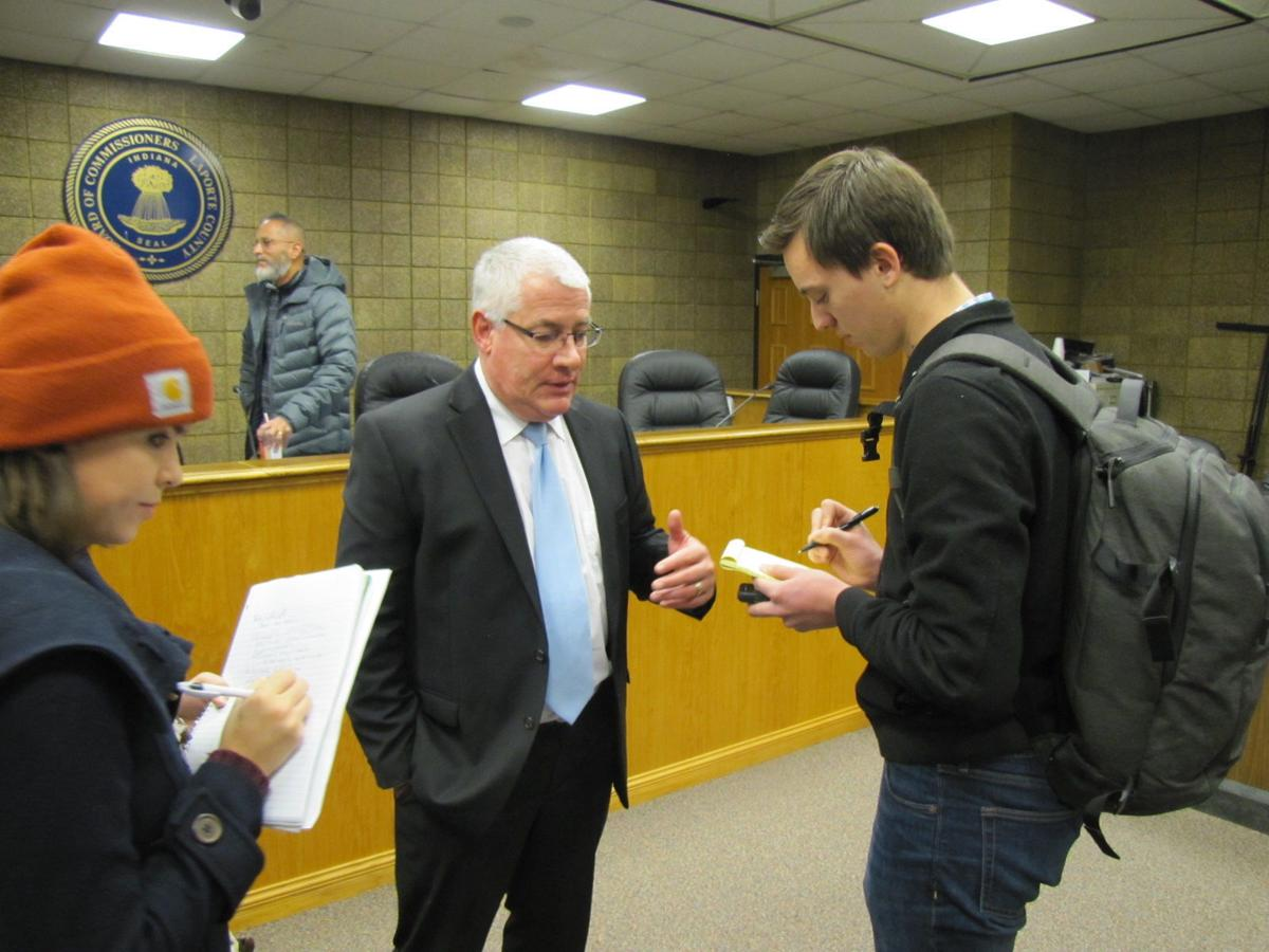 Gonder steps down as county commissioner | Government and Politics