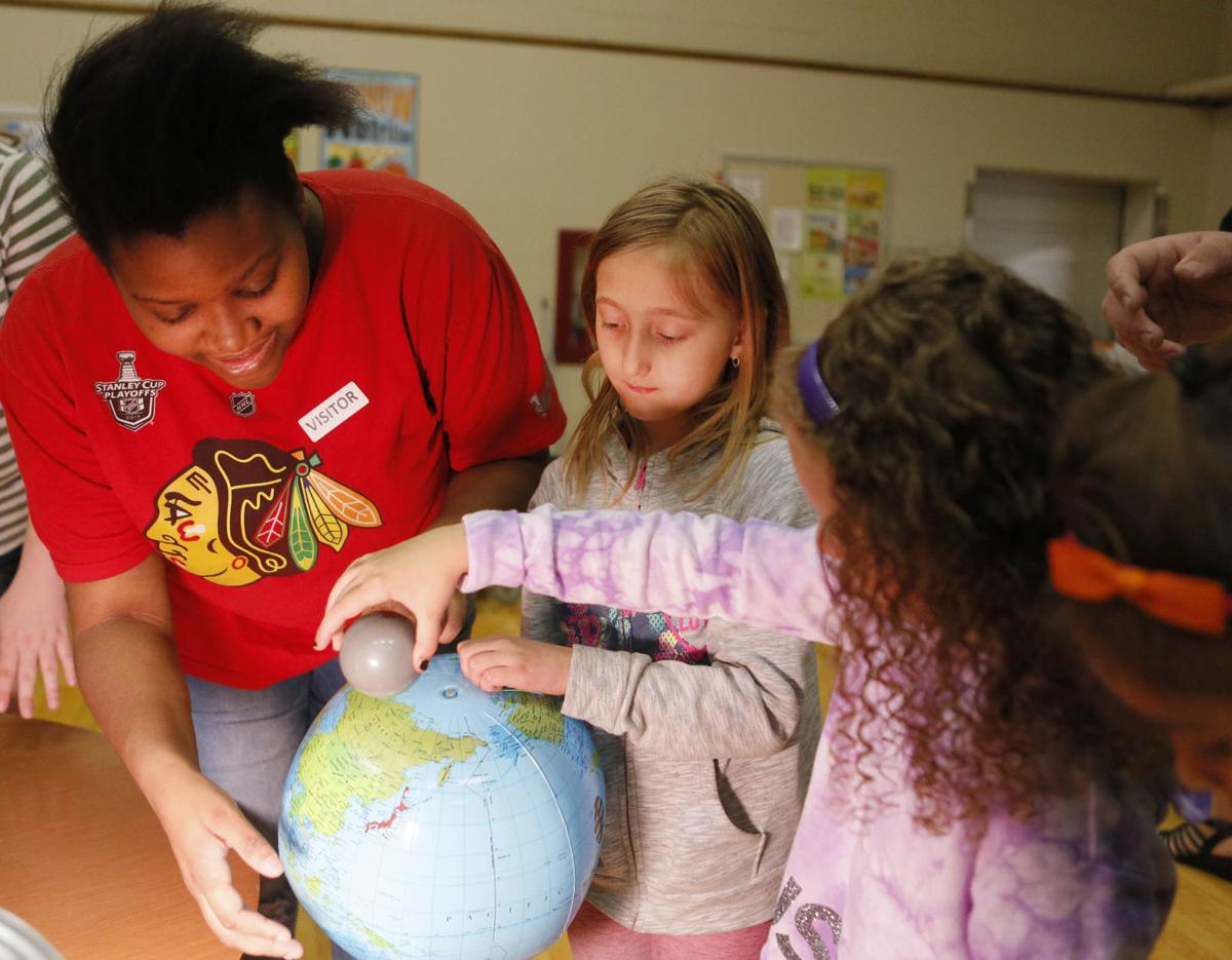 Chesterton High School students light the spark for a love of science in minds of first-graders