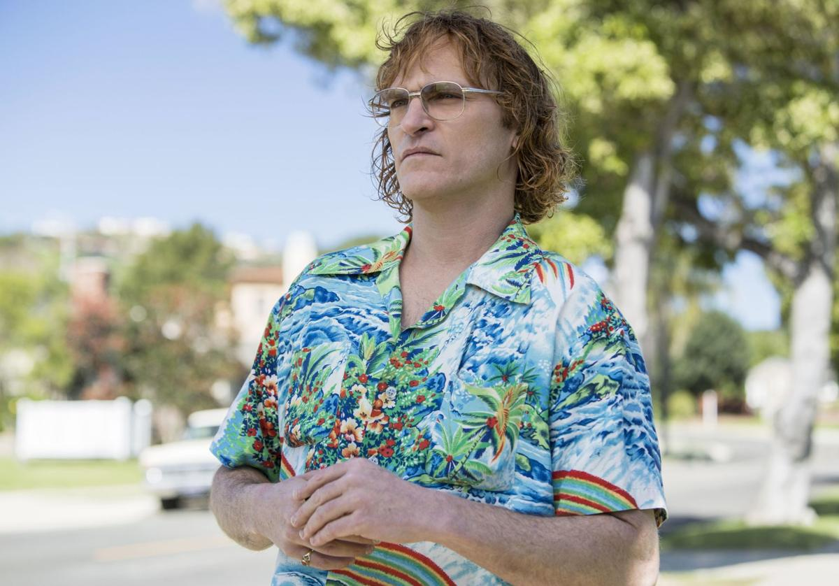Joaquin Pheonix, DON'T WORRY, HE WON'T GET FAR ON FOOT
