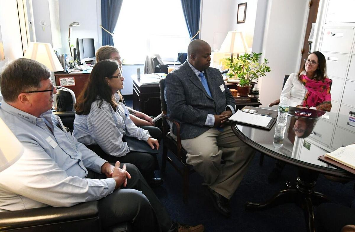 Local steelworkers visit DC to lobby for import investigation