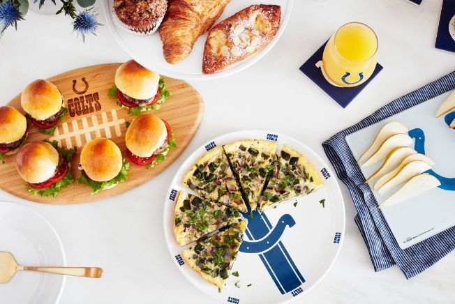Colts products from NFL Homegating
