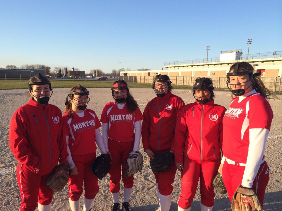 Diamonds in the Dirt: Morton infield chooses to wear face masks for safety