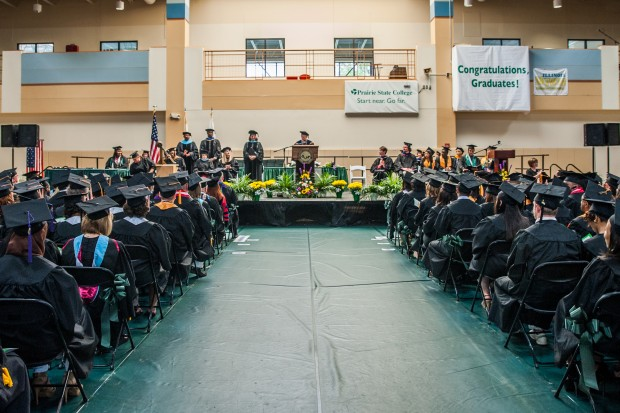 Prairie State College >> Prairie State College Holds 54th Commencement Ceremony