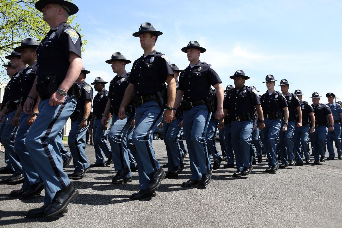 STOCK Indiana State Police
