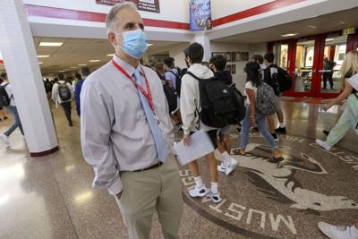 Munster HS students first week back with pandemic