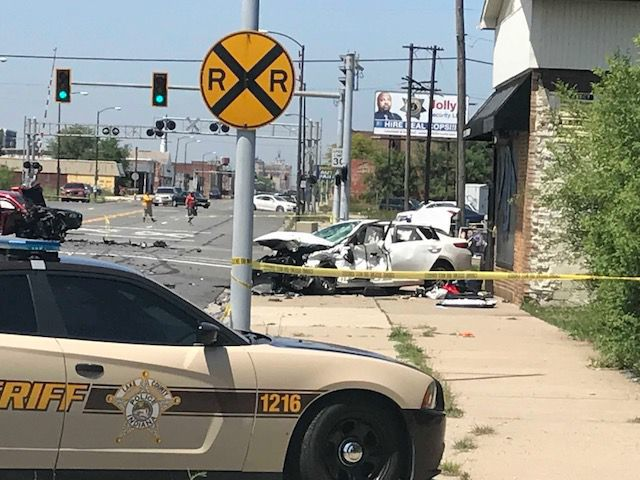Police investigate shootout involving ATF agent, three-car crash in Gary's Midtown section