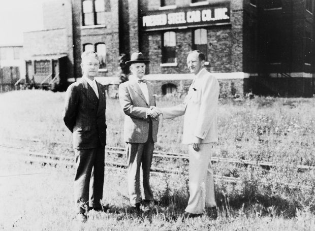 Railroad car company owner founded Hegewsich