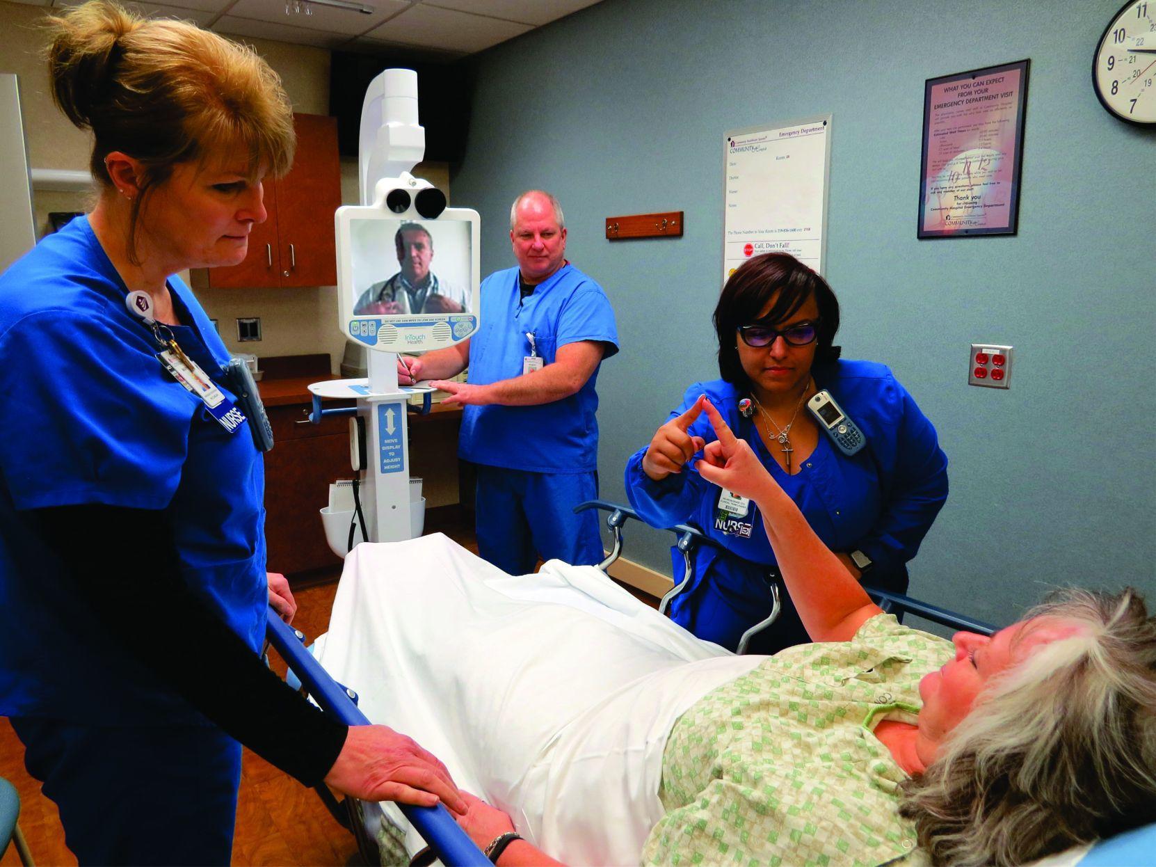 Telestroke 2jpg Health care in NWI thriving