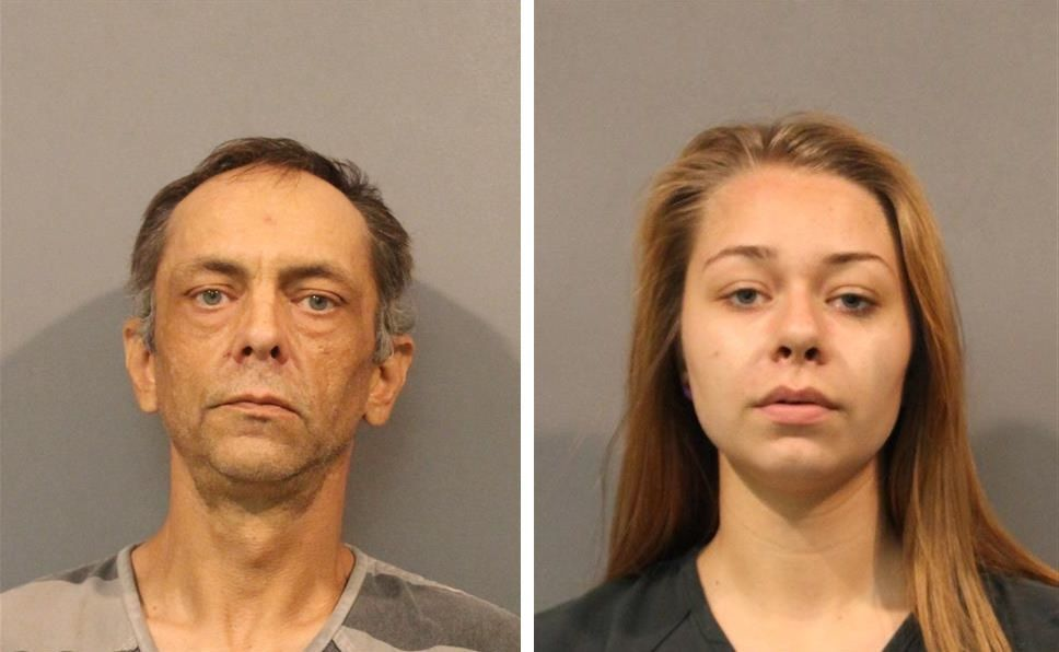 Crown Point father and daughter arrested after police find hallucinogenic mushrooms, guns and cash in their home
