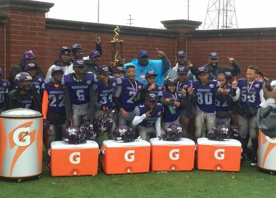 Merrillville Jr. PeeWee team places third at nationals
