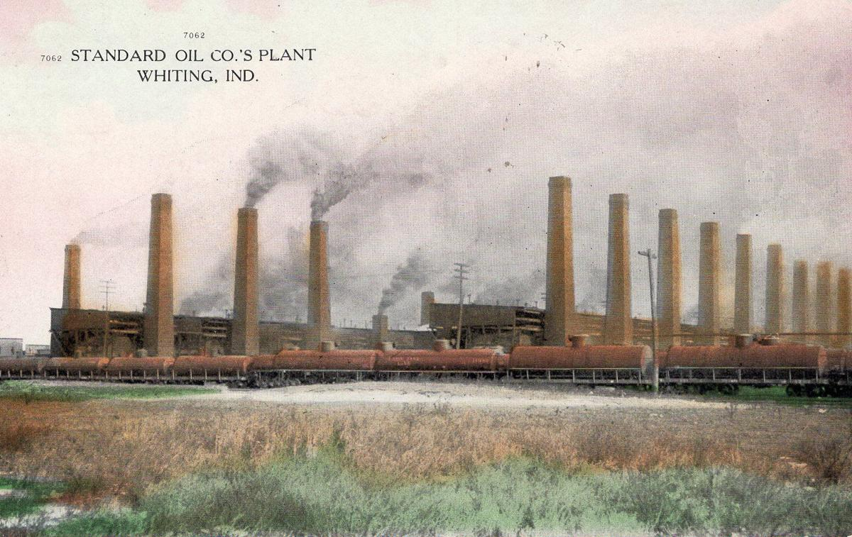 Whiting Refinery history