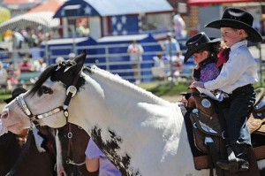 Kids Compete On Stick Ponies Real Thing At Western Horse Show Local News Nwitimes Com