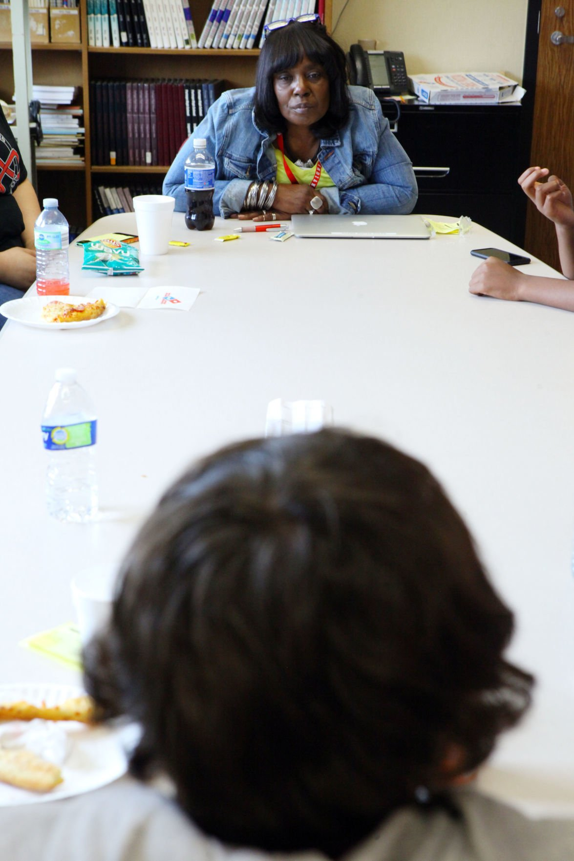 Restorative justice program at Portage High School works to build trust, lower disciplinary problems in troubled students