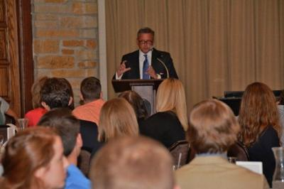 Scholarship recipients urged to share their talents with NWI