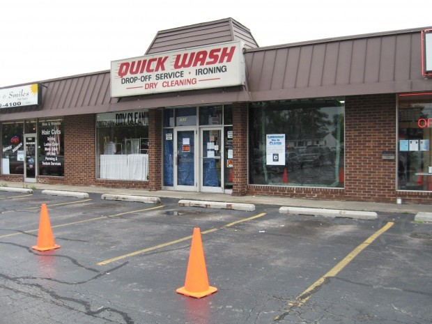 Quick Wash Laundromat in Highland, Ind. Becomes a Movie Set