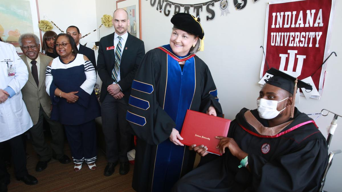 Munster man graduates from IUN — in Chicago hospital
