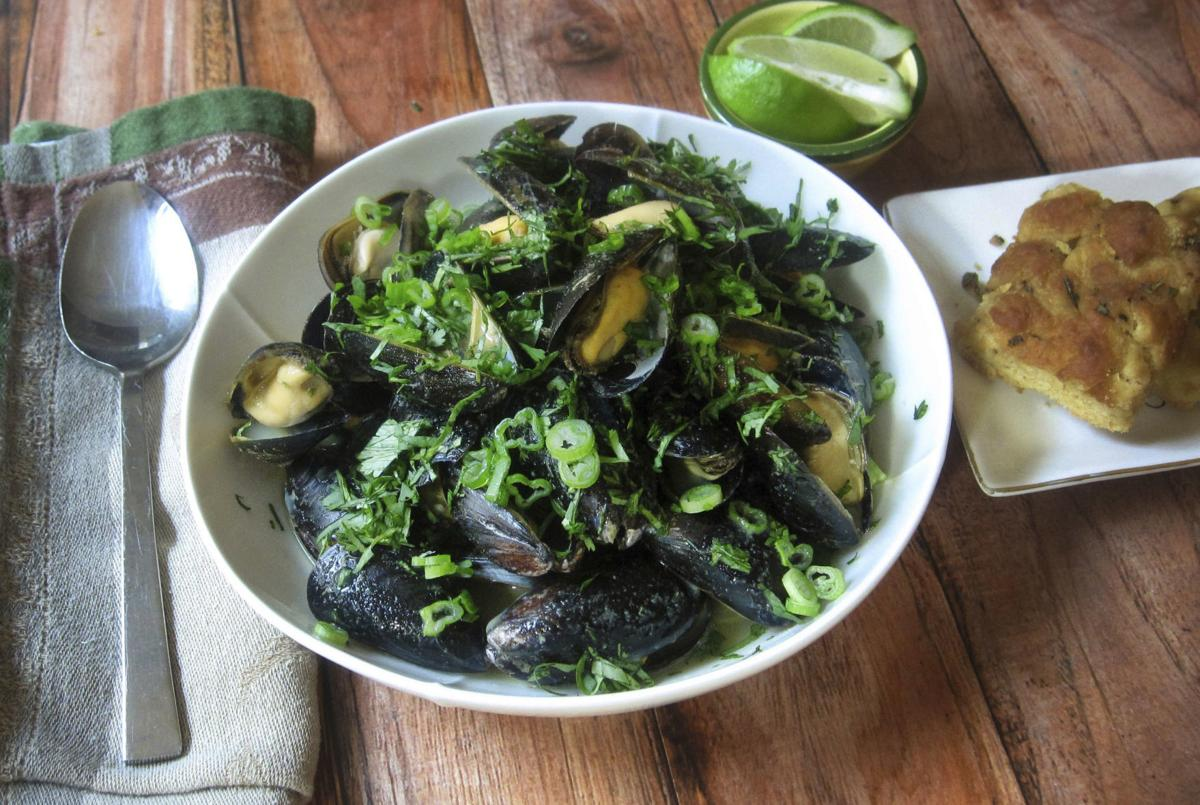 Food Column KitchenWise Steamed Mussels