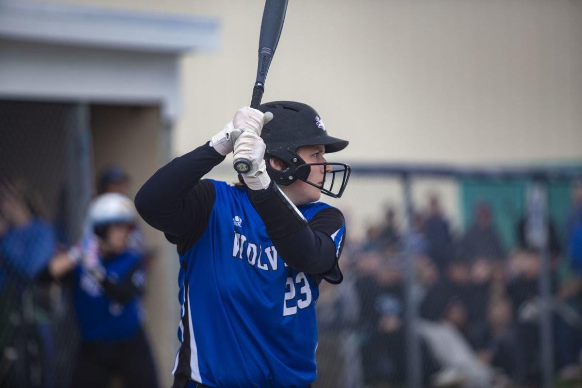 Softball match between Boone Grove and Andrean (all-area)