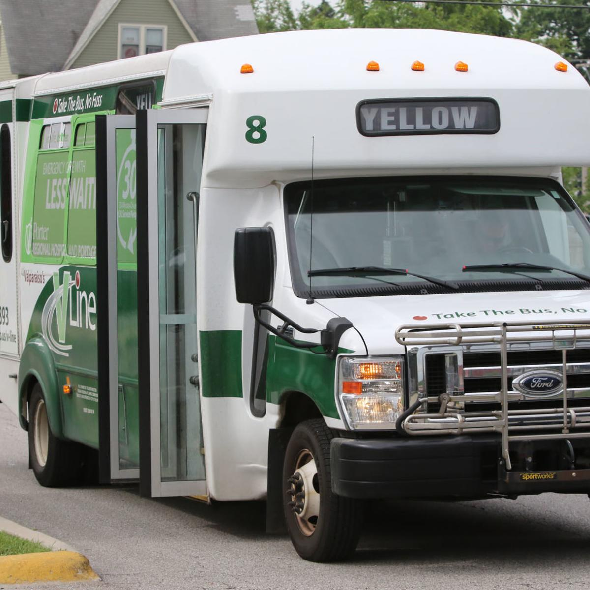 Bus from Valpo to South Shore train gets rolling in August
