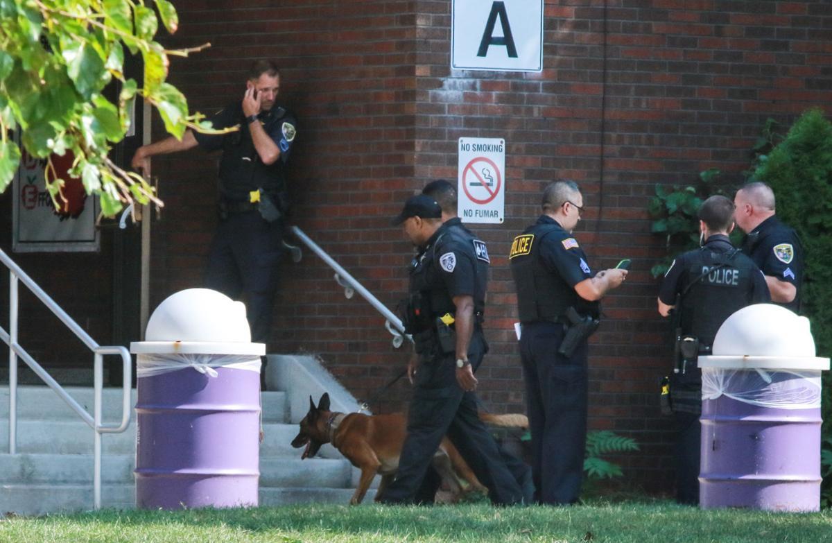 Hammond schools locked down