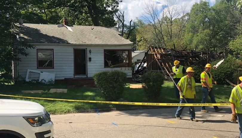 No injuries after gas explosion at Michigan City home