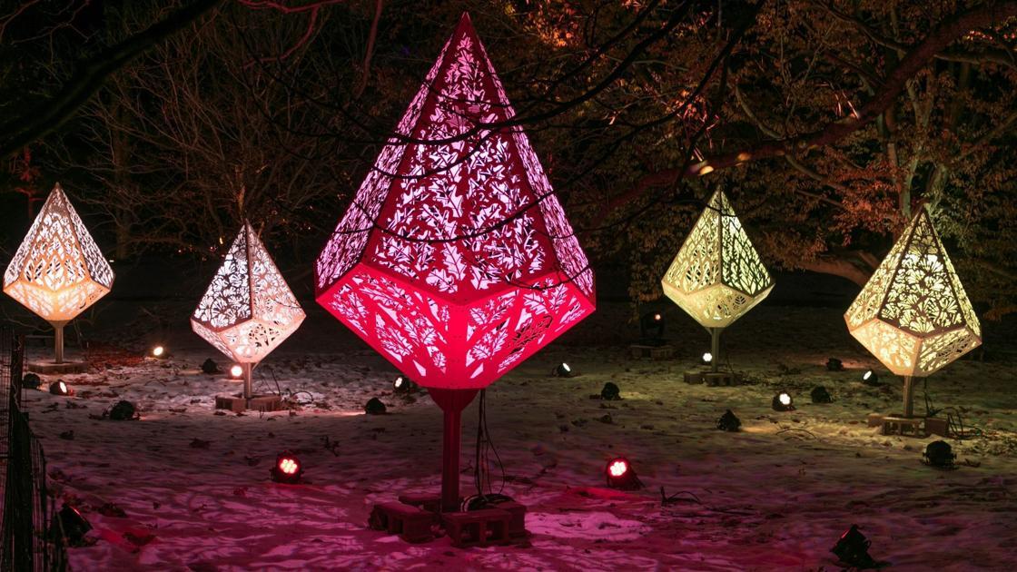 Morton Arboretum reimagines holiday lights display as ...
