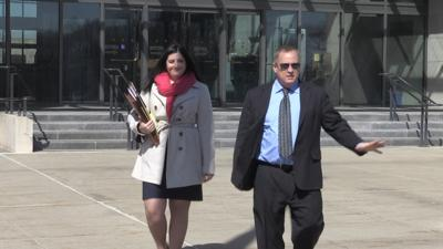 Murchek Leaves Federal Court after being indicted