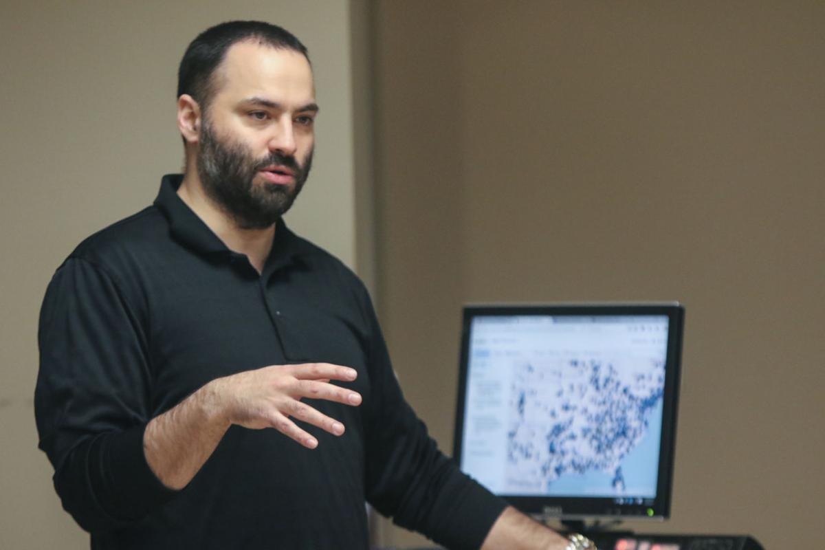 Dr. Joseph Ferrandino's class is working on a map of every officer involved police shooting