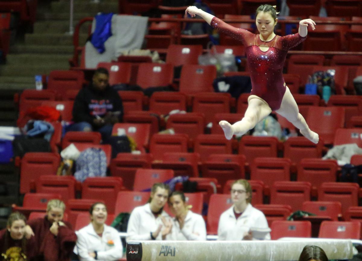 Gymnastics state finals