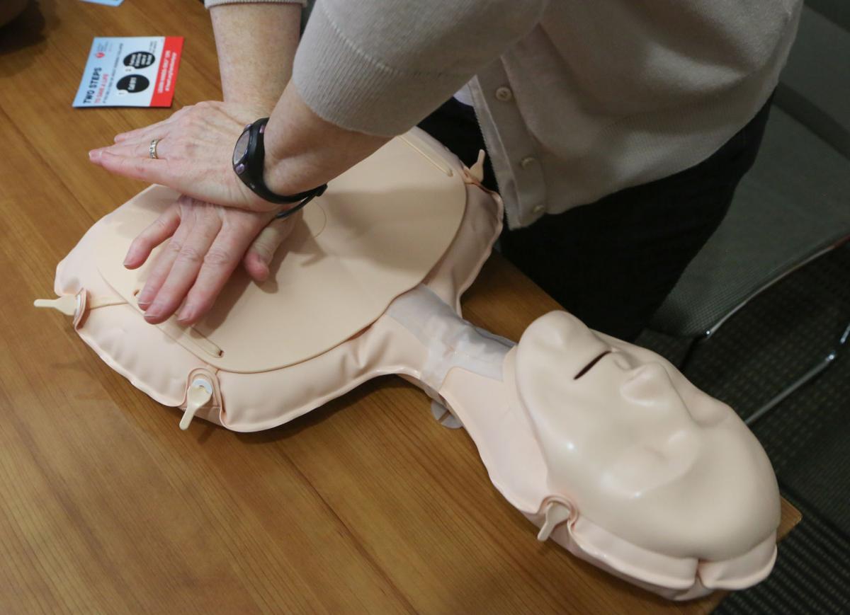 Mass CPR class at Valparaiso University (copy)