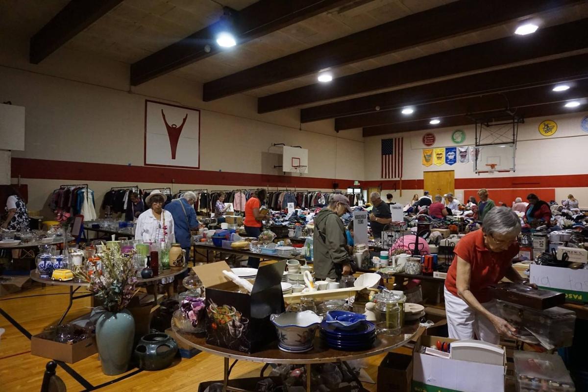 Church rummage sale begins Thursday