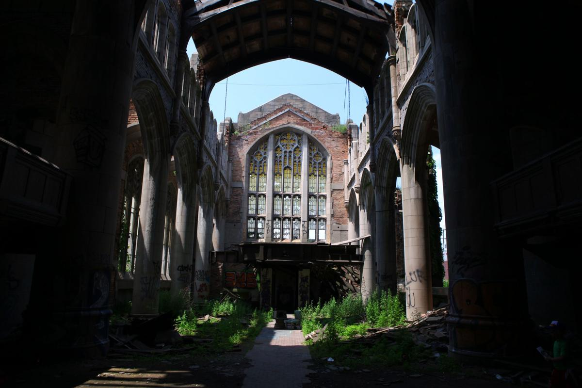 Inside City Methodist Church