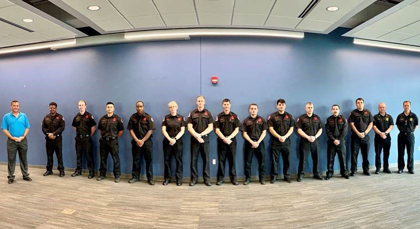 new hammond fire recruits 2020