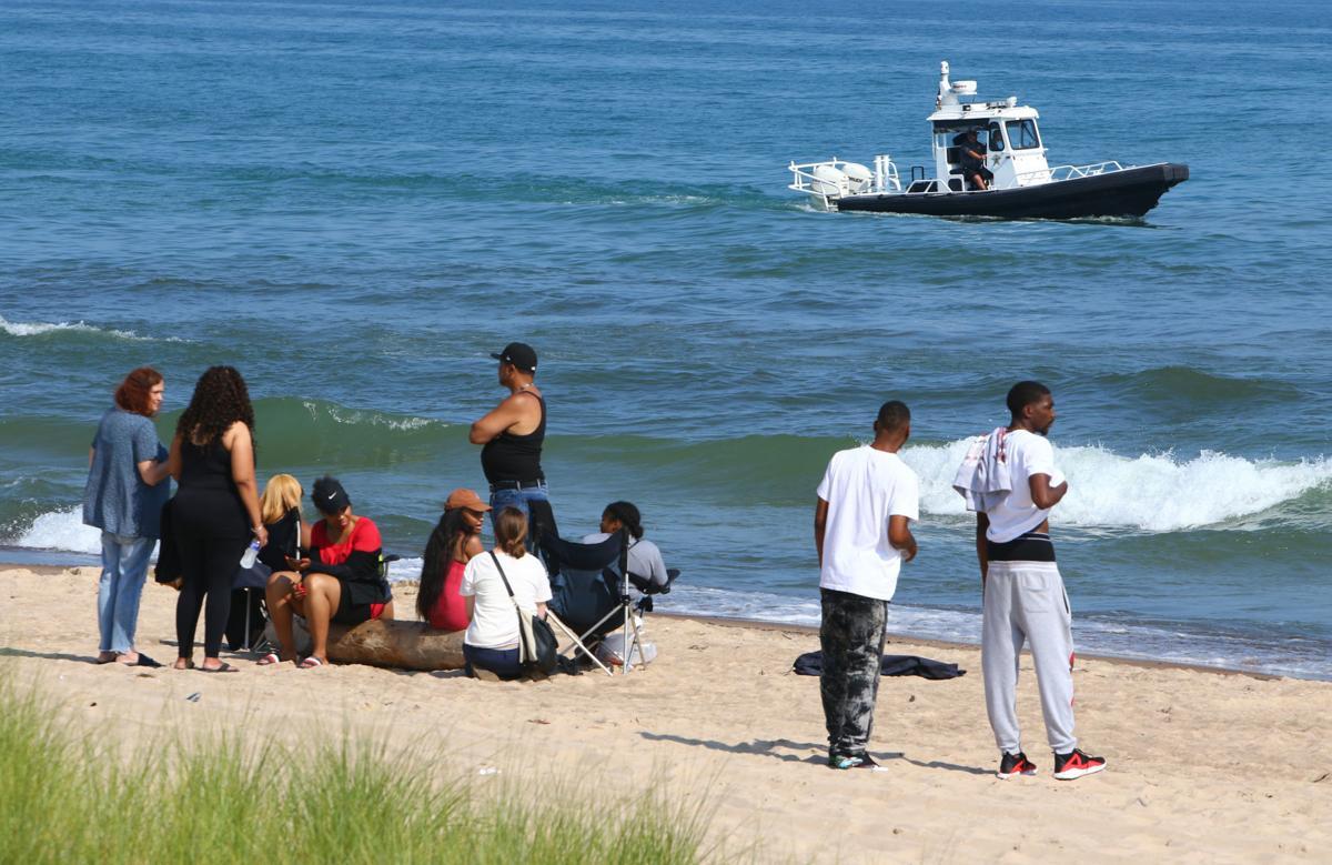 Marquette Beach safety