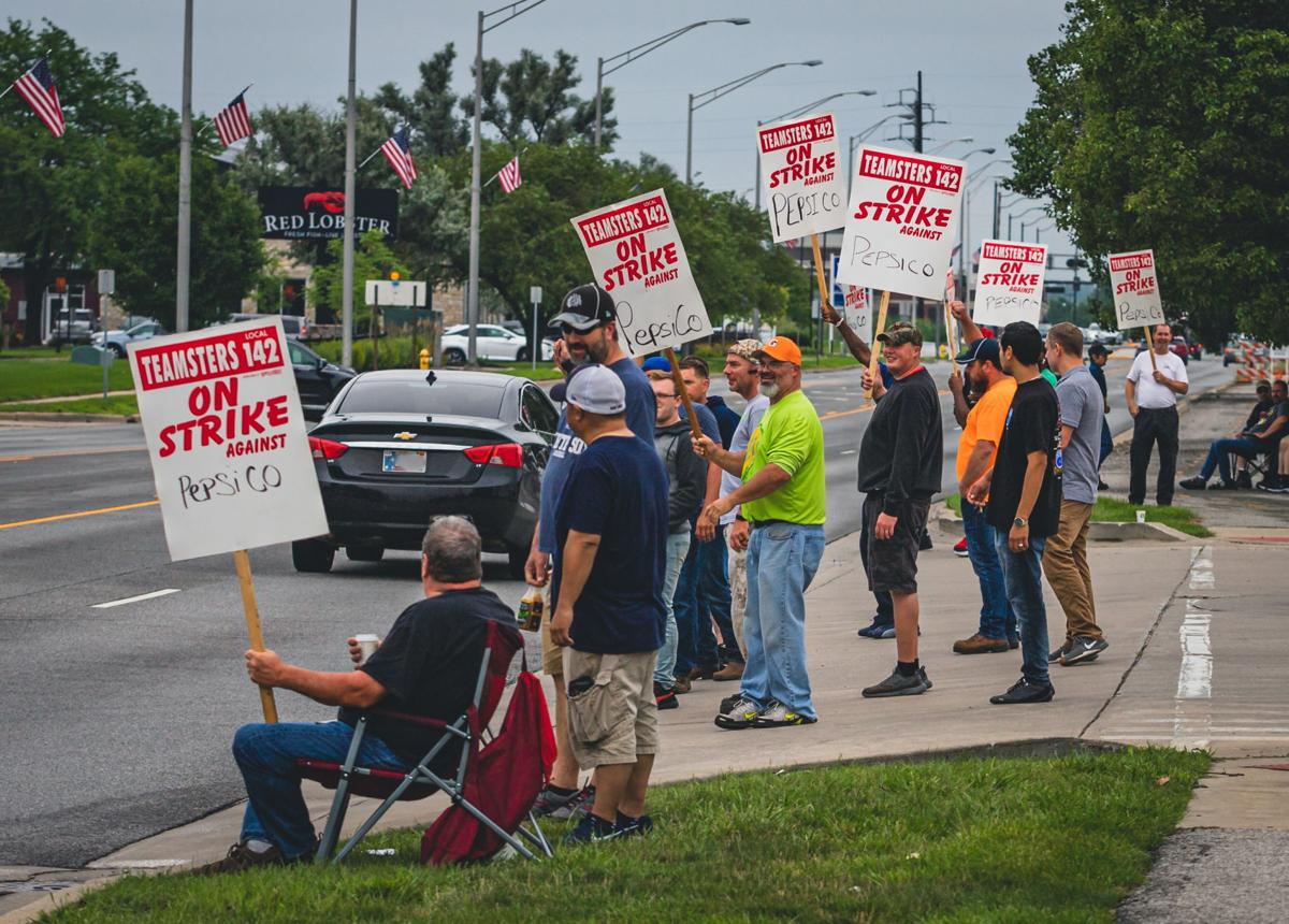Pepsi drivers striking over potential five-fold increase in health care premiums