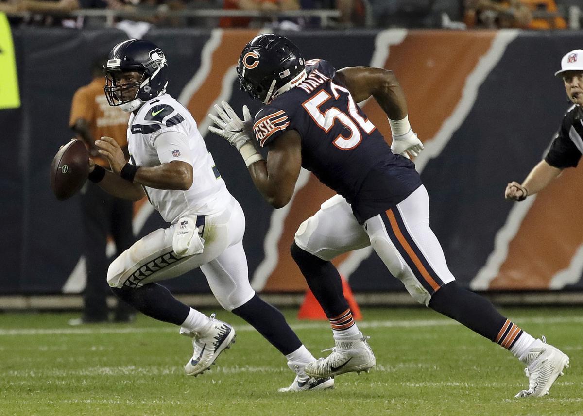 Khalil Mack Bears Defense Look To Turn Sacks Into Turnovers Chicago Bears Nwitimes Com