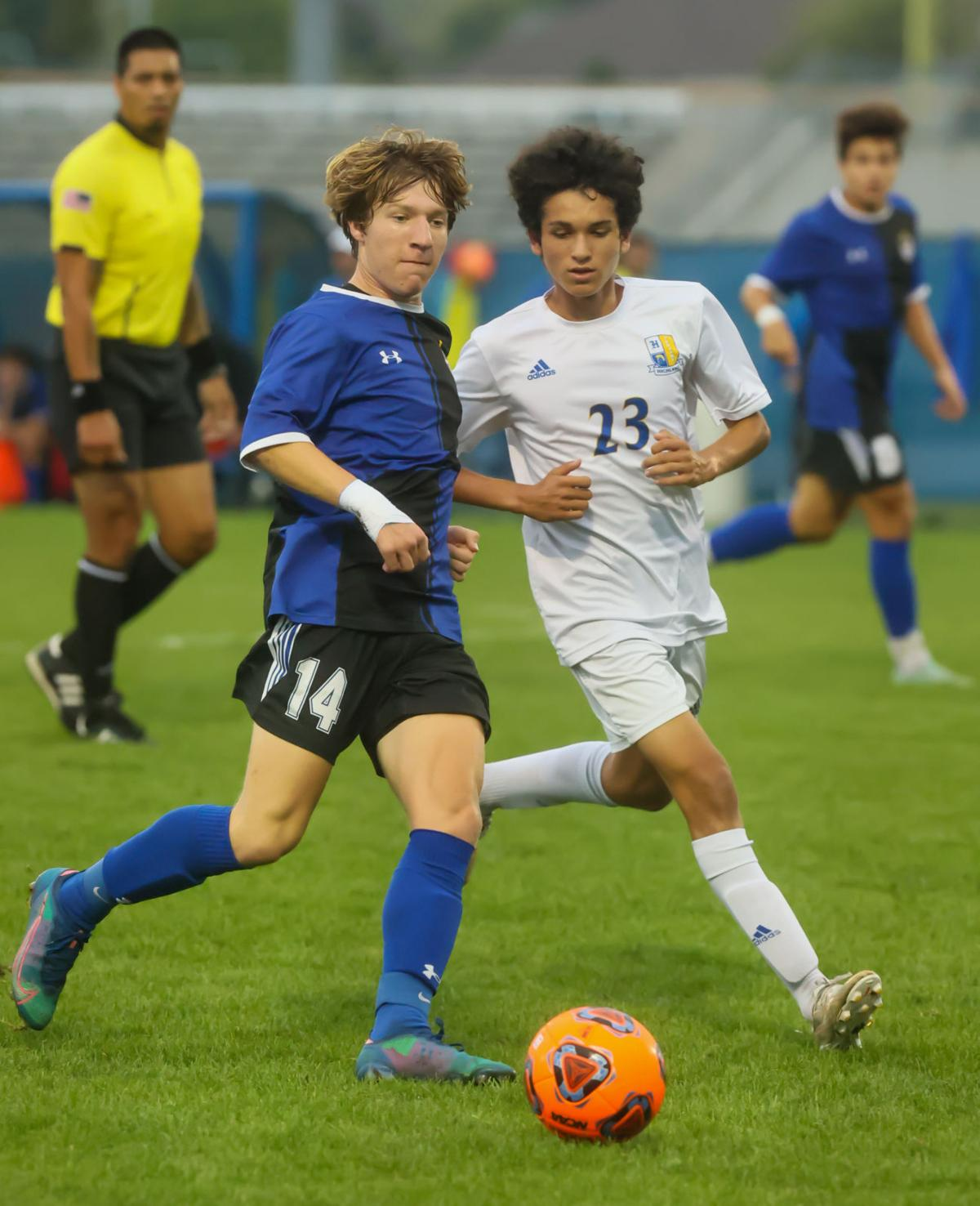 Highland vs Lake Central soccer sectional semifinal
