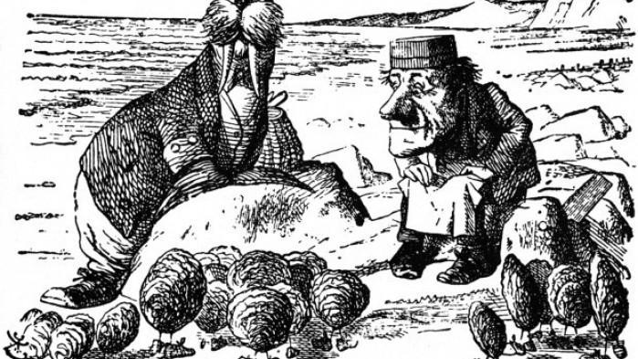 walrus from alice in wonderland