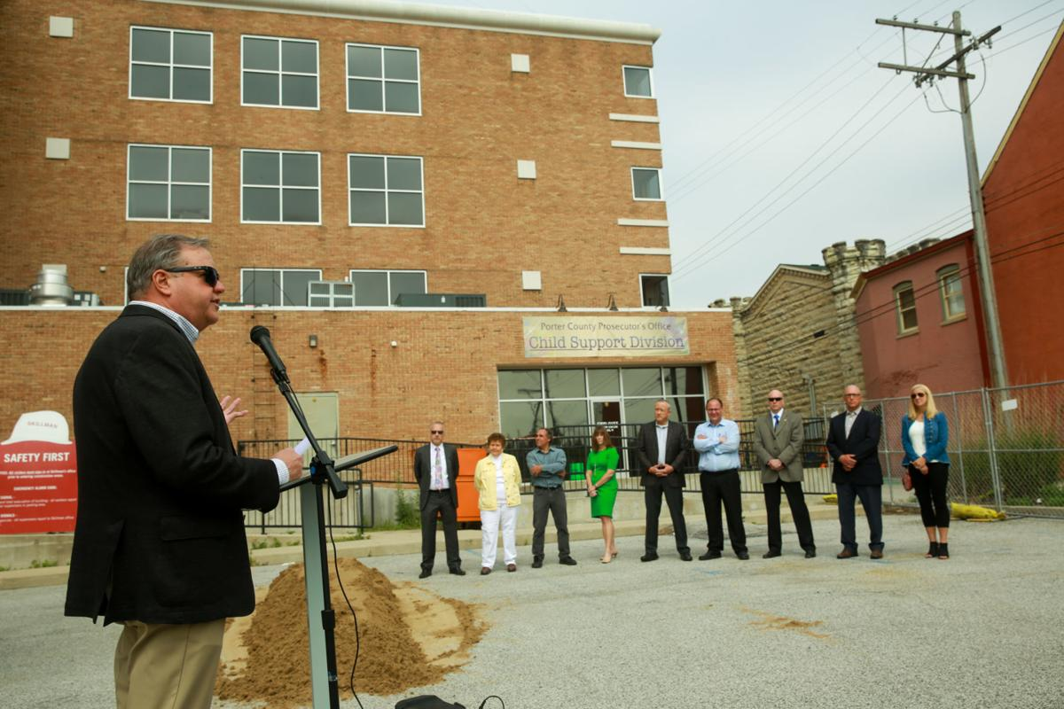 Officials celebrate work at new 911 center