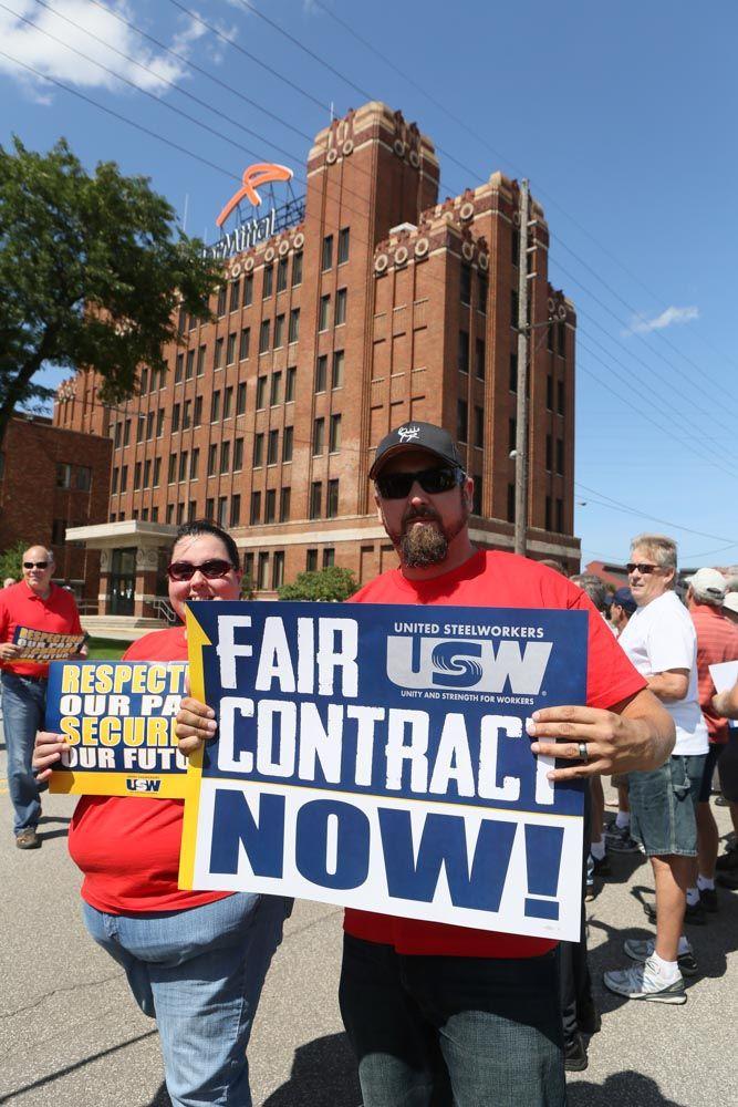 ArcelorMittal, union reach tentative deal