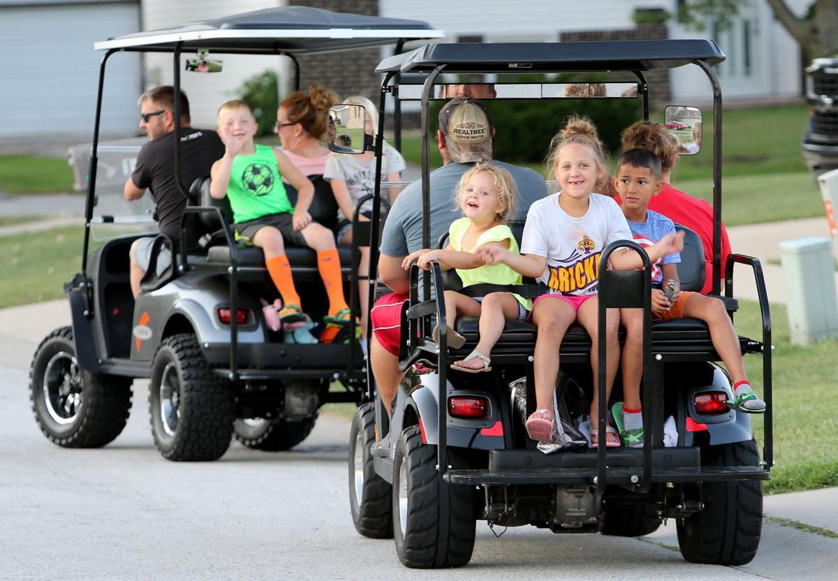 Golf cart life (copy)